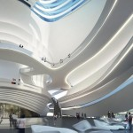 Changsha Meixihu Culture and Art Centre by Zaha Hadid Architects (1)