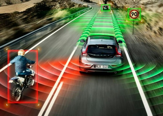 Cyclist Detection system by Volvo