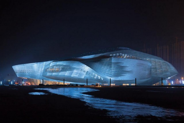 Dalian International Conference Center by CoopHimmelb(l)au