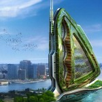 Dragonfly- Vertical Farm concept for NYC by Vincent Cal...
