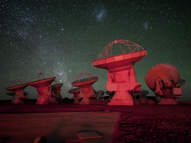 Earth's most Powerful ALMA Telescope goes online