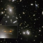 Hubble sees Space Invader image
