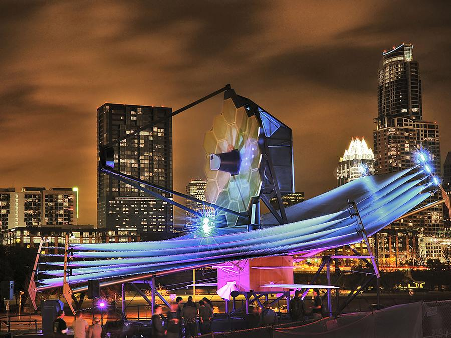 James Webb Telescope Model at South by Southwest