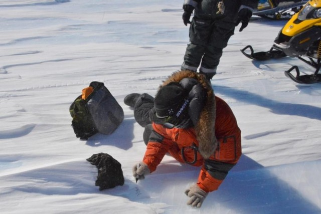 Meteorite discovered in Antarctica