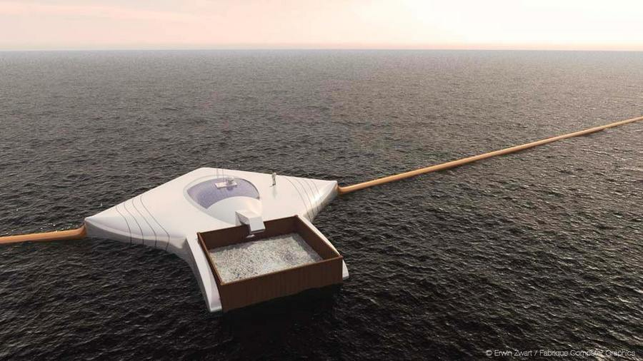 Ocean Cleanup Array (5)