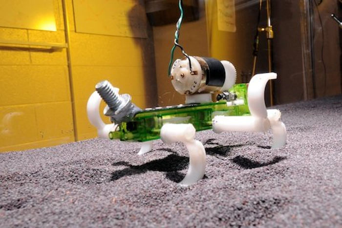 Off-road Robot to revolutionize the Exploration of other Planets