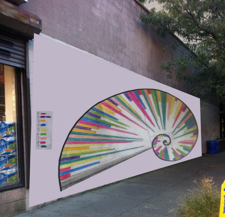 Wordlesstech pi day for Mural examples