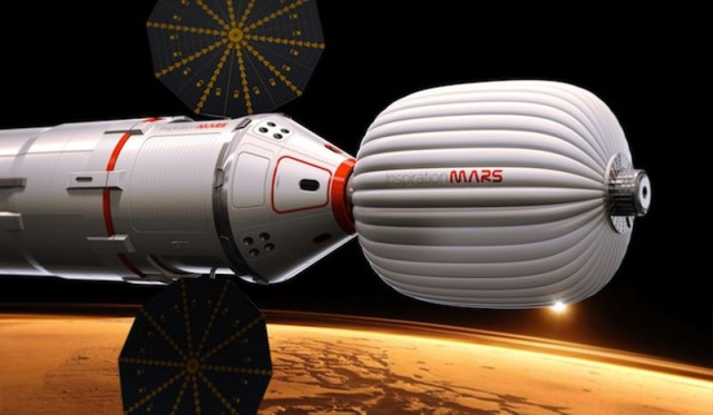 Private Plan to Send Humans to Mars