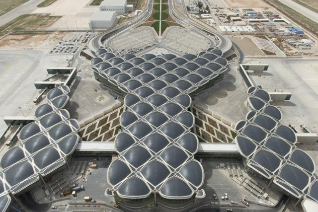 Queen Alia airport by Foster - Partners
