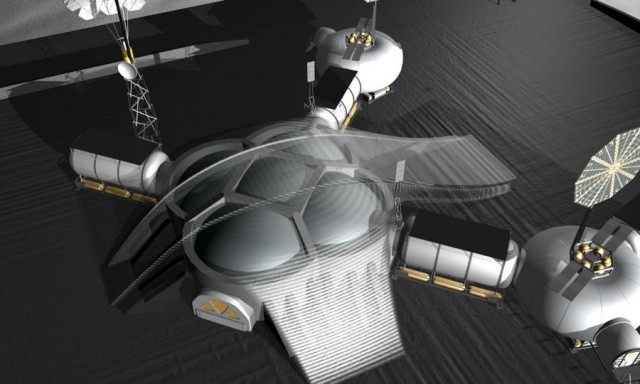 Space architects and NASA plan 3D-printed Lunar Base (6)
