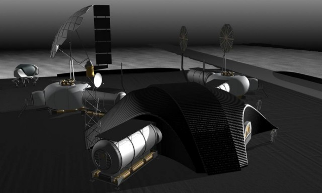 Space architects and NASA plan 3D-printed Lunar Base (5)