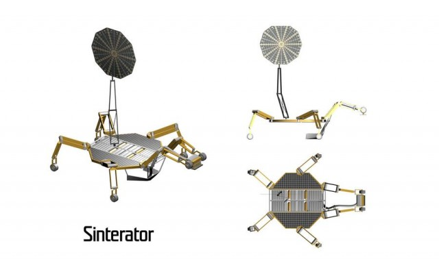 Space architects and NASA plan 3D-printed Lunar Base (2)