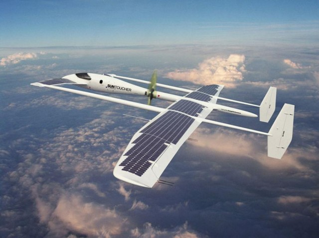 Suntoucher Solar-Powered Aircraft