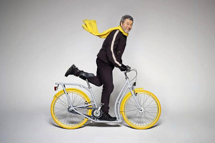 The Pibal Scooter-Cycle by Philippe Starck and Peugeot