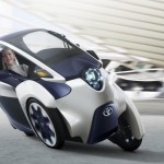 Toyota i-Road Three-Wheeled Electric Vehicle