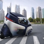 Toyota i-Road Three-Wheeled Electric Vehicle (3)