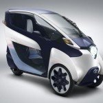 Toyota i-Road Three-Wheeled Electric Vehicle (5)