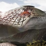 Volcano Skyscraper Harnesses Energy from Active Volcano...