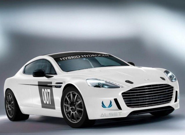 Aston Martin to Race World's First Hydrogen-Powered car