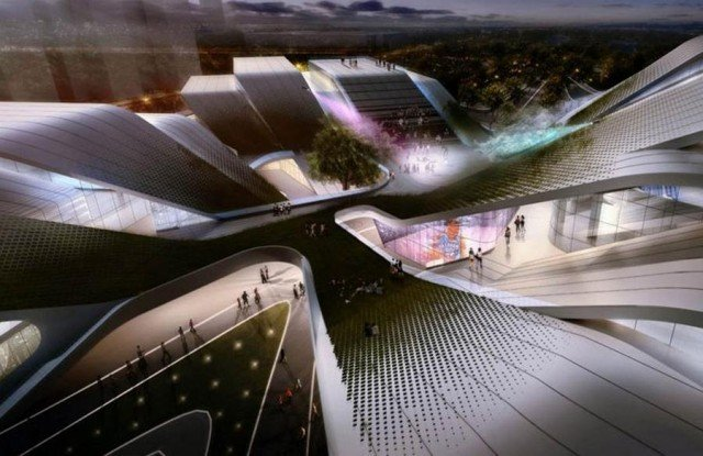 Beijiao Sports Center by DUO