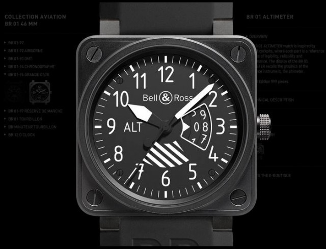 Bell - Ross Aviation Collection Watches (5)