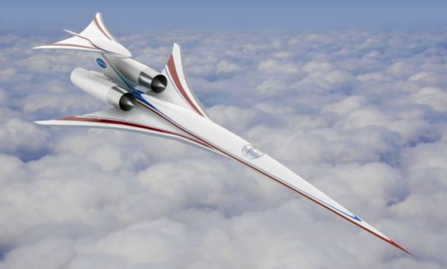 Boeing's Supersonic aircraft model