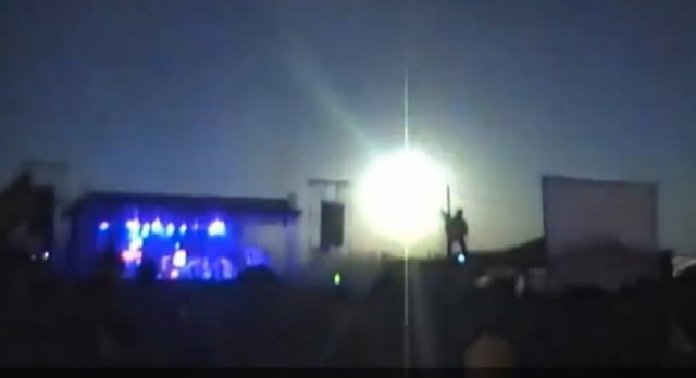 Bright Meteor shined Argentina Rock Concert