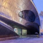 China Wood Sculpture Museum by MAD Architects is comple...