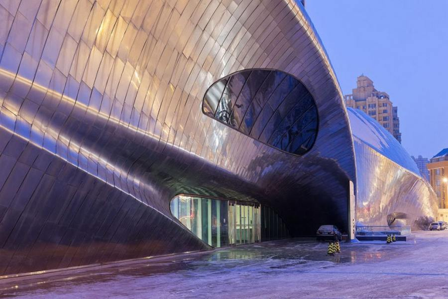 China Wood Sculpture Museum by MAD Architects (6)