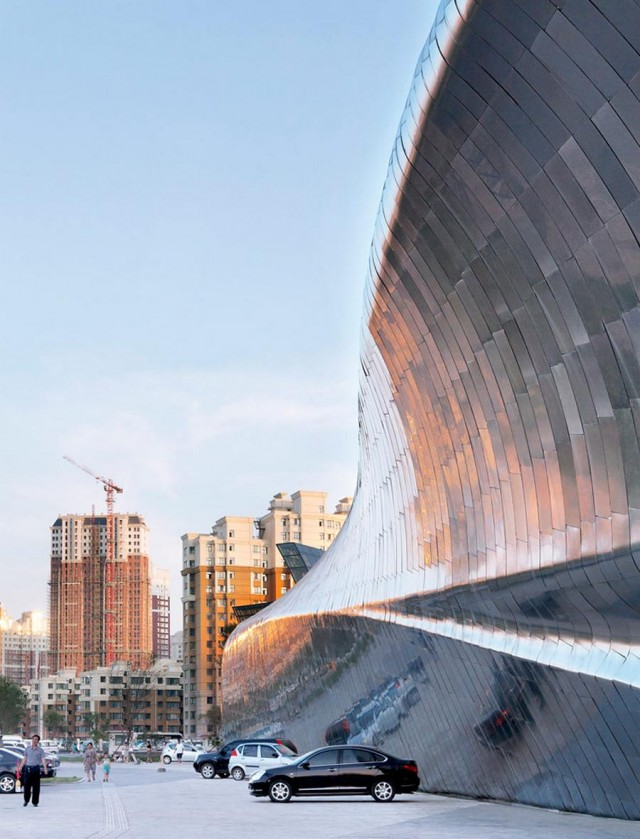 China Wood Sculpture Museum by MAD Architects (4)