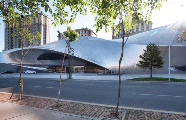 China Wood Sculpture Museum by MAD Architects (1)