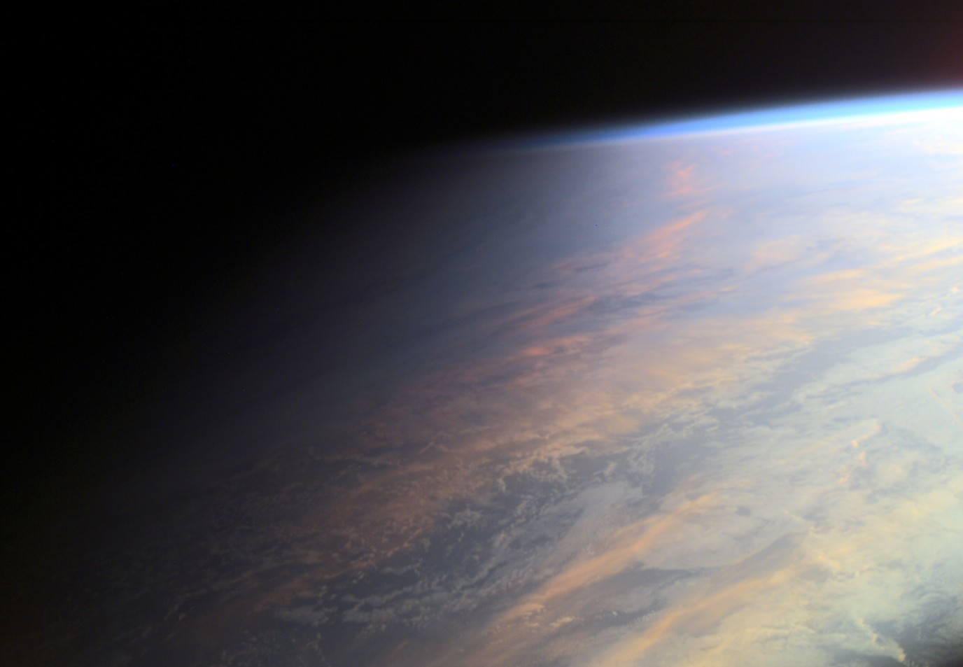 Earth's Twilight from ISS