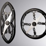 Folding wheel by Vitamins design