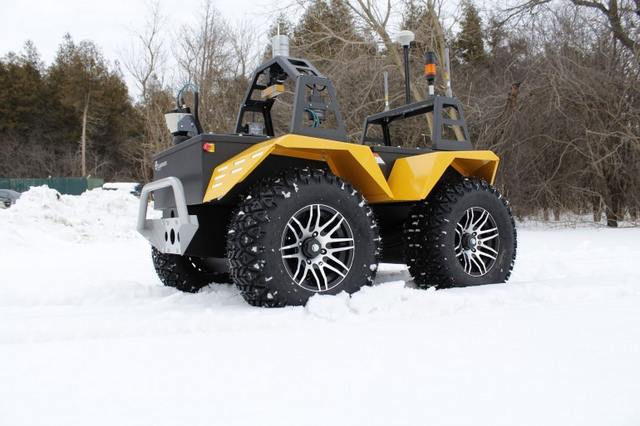 Grizzly Robot Utility All-Electric Vehicle