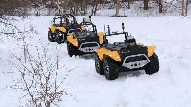 Grizzly Robot Utility All-Electric Vehicle (1)