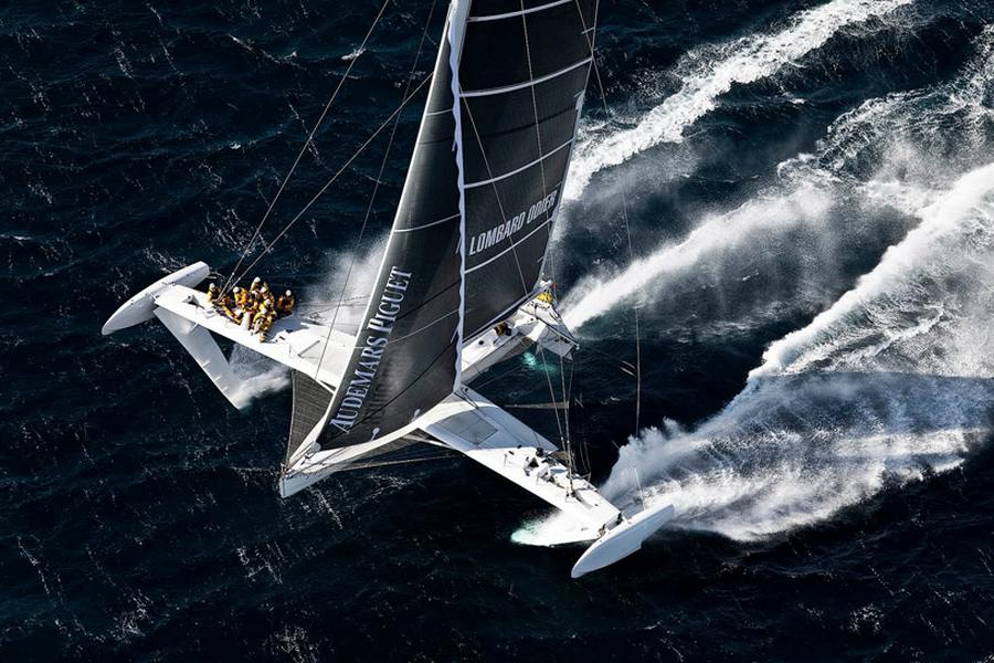 Wordlesstech Hydroptere World S Fastest Sailboat