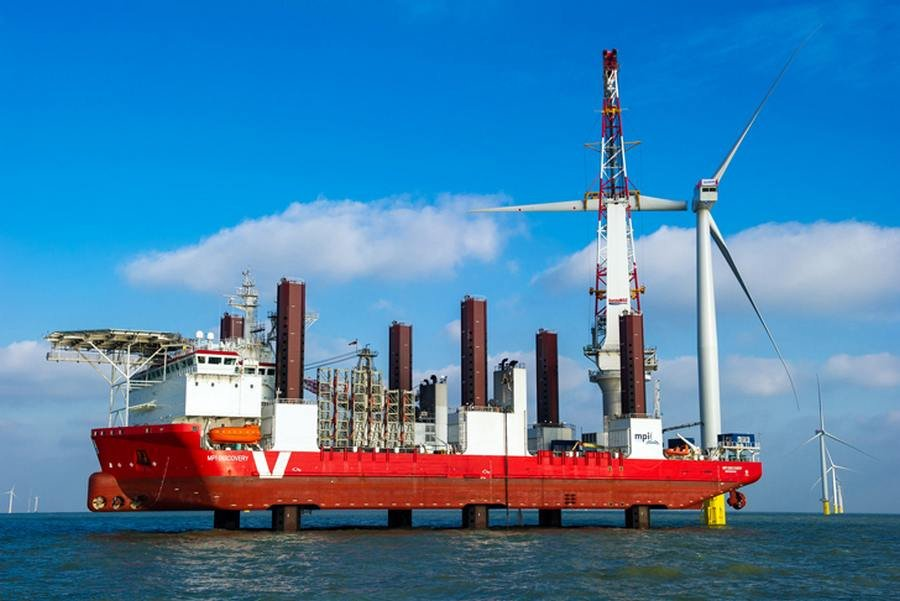 London Array World's Largest Offshore Wind Farm