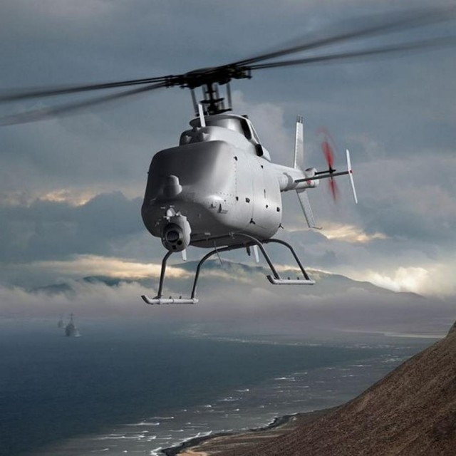 MQ-8C Fire Scout Drone Helicopter