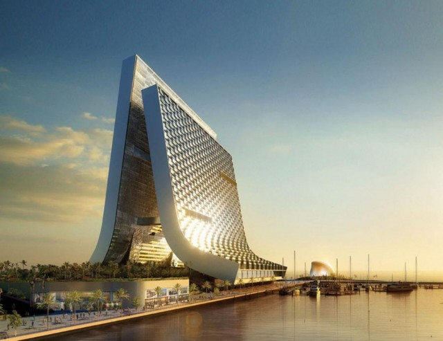 Marina - Beach Towers by Oppenheim Architecture (6)