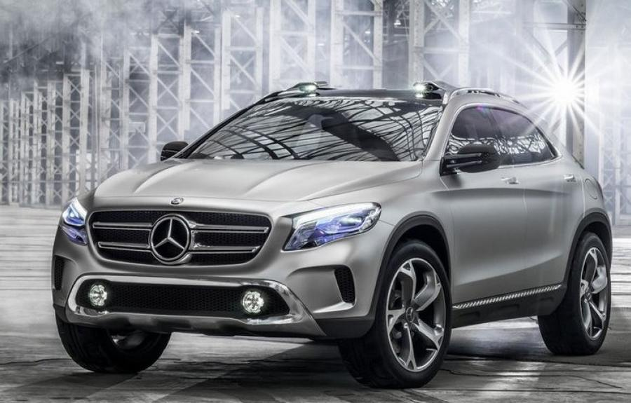 mercedes benz gla suv concept wordlesstech. Black Bedroom Furniture Sets. Home Design Ideas