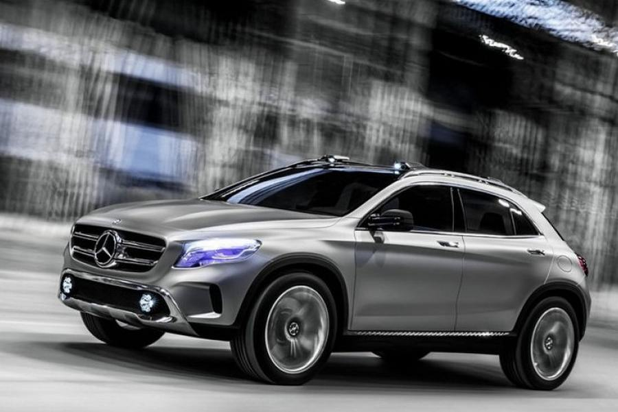 Mercedes benz gla suv concept wordlesstech for Mercedes benz press release