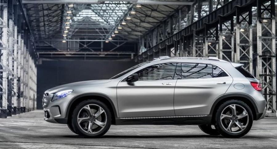 Mercedes benz gla suv concept wordlesstech for Mercedes benz utility vehicle