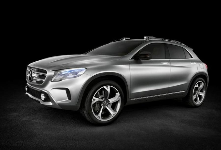 Mercedes benz gla suv concept wordlesstech for Mercede benz suv