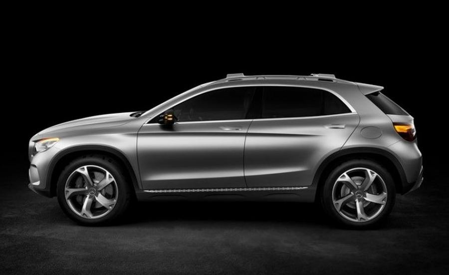 Wordlesstech mercedes benz gla suv concept for Mercedes benz compact suv