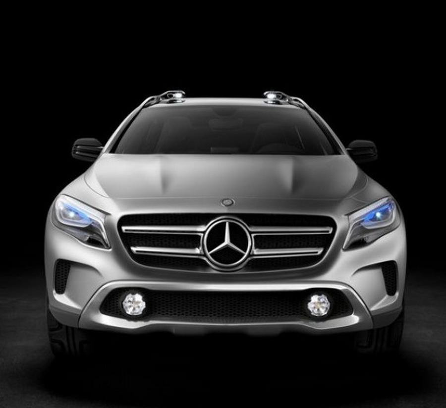 wordlesstech mercedes benz gla suv concept. Black Bedroom Furniture Sets. Home Design Ideas