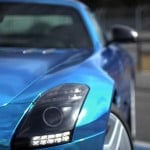Mercedes SLS AMG Electric Drive- test drive