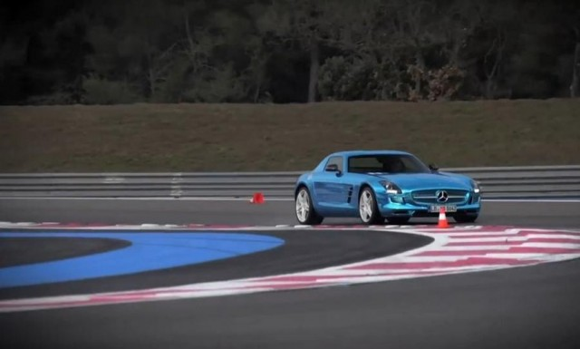 Mercedes SLS AMG Electric Drive (1)