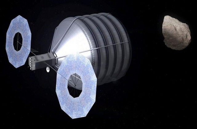 NASA's Concept of Asteroid Capture