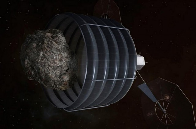 NASA's Concept of Asteroid Capture (3)
