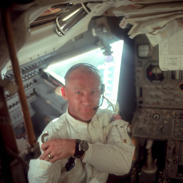 Buzz Aldrin - Omega Speedmaster - Apollo 11